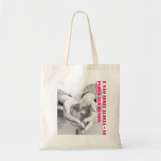 E I will not be village - it could be world. (PCF) Budget Tote Bag