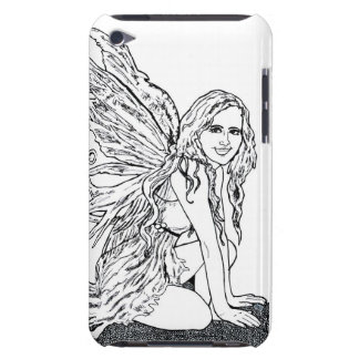 E iPod Case Fairy Doodle iPod Case-Mate Case