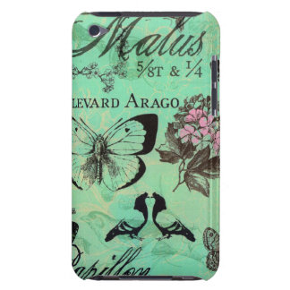 E iPod Case French Garden iPod Touch Covers