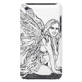E iPod Case Queen Anne's Lace Fairy iPod Case Case-Mate iPod Touch Case