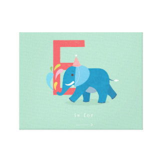 E is for... canvas prints