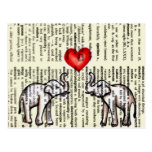 E is for Elephant Dictionary Page (K.Turnbull Art)