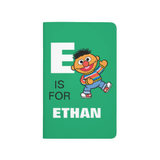 E is for Ernie | Add Your Name Journal