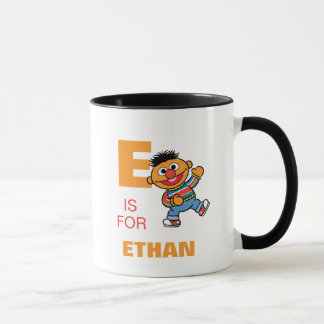 E is for Ernie | Add Your Name Mug