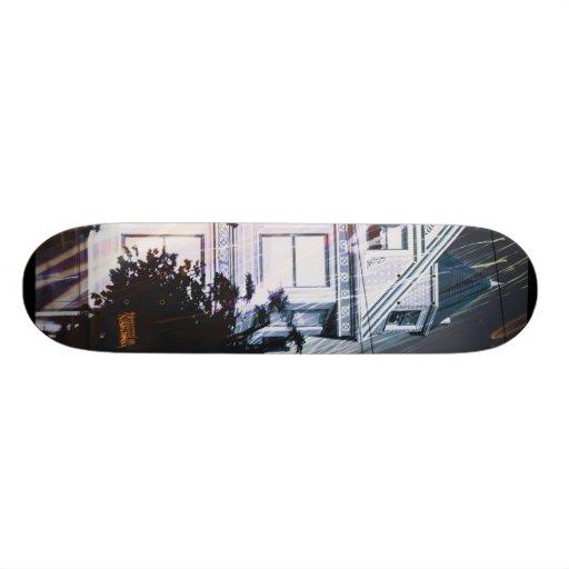 E-Lectric Hawse of Blues Skate Board Deck