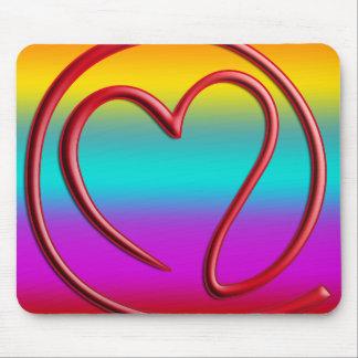 e m a i l 4 y o u | coloured linear mousepad