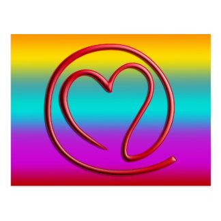 e m a i l 4 y o u | coloured linear post cards
