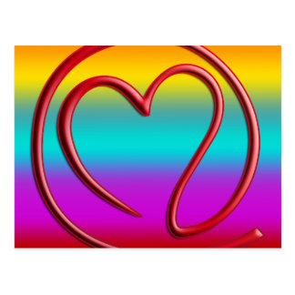 e m a i l 4 y o u | coloured linear postcard