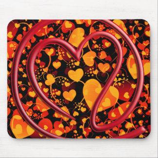 e m a i l 4 y o u | heart pattern mouse pads