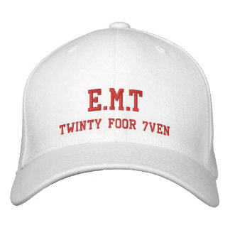 E.M.T/Twinty Foor 7ven Embroidered Baseball Caps