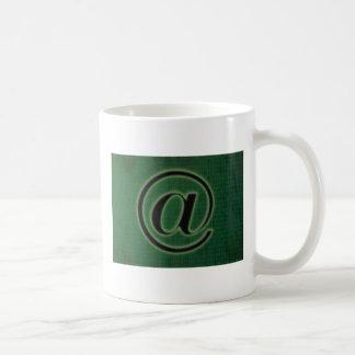 e-mail sign mug