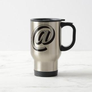 E-mail symbol 3D Coffee Mugs