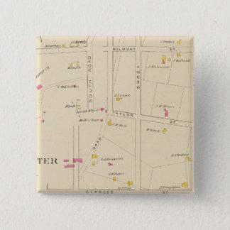 E Manchester, Bakerville, Ward 6 15 Cm Square Badge