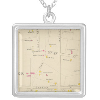 E Manchester, Bakerville, Ward 6 Silver Plated Necklace