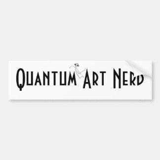 E MC2 Alien Quantum Art Nerd© Bumper Stickers