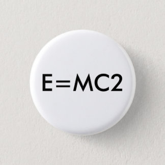 E=MC2 badge