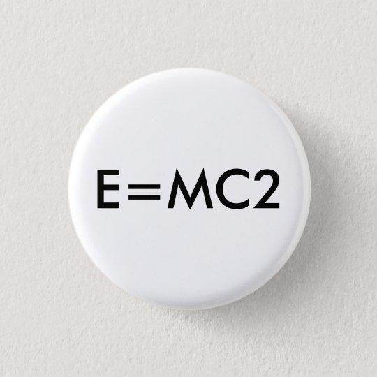E=MC2 badge