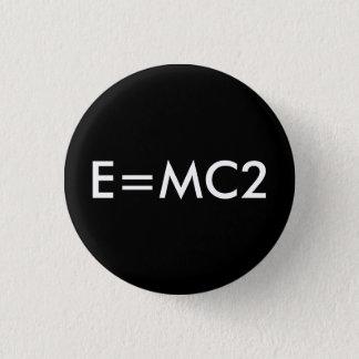E=MC2 badge - BLACK