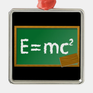 E=mc2 Christmas Ornament