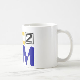 E=MC2 COFFEE MUG
