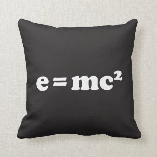 e = mc2 cushion