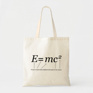 E MC2 Einstein s Theory of Relativity Canvas Bag