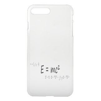 E=mc2 formula, physics relativity theory iPhone 7 plus case