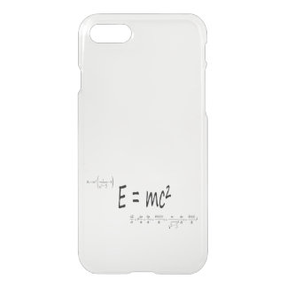 E=mc2 formula, physics relativity theory iPhone 8/7 case