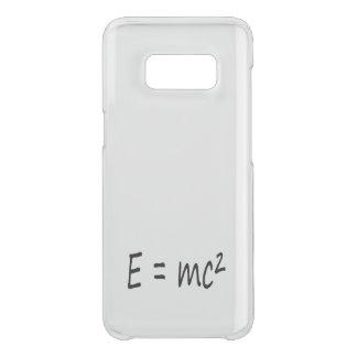 E=mc2 formula, physics relativity theory uncommon samsung galaxy s8 case