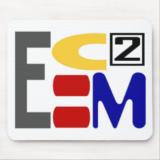E=MC2 MOUSE MAT