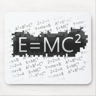 E=mc2 mousepad