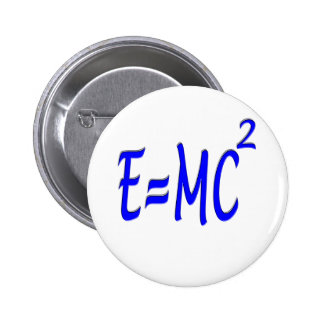 E = MC 2 (blue) Pins