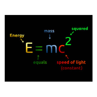 e equals mc squared