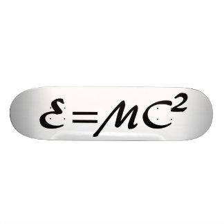 E=MC^2 SKATEBOARD