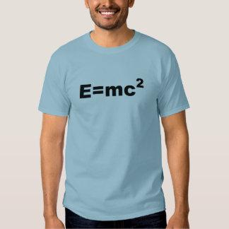 E =MC 2 TSHIRT