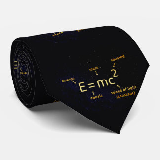 E=mc², Mass–Energy Equivalence Tie