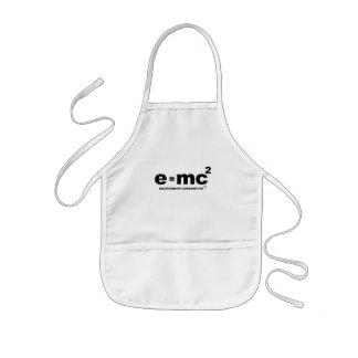 e = mc squared (excretion = my comsumption x 2) apron