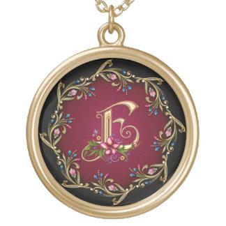 E Monogram Necklace