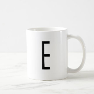 E COFFEE MUGS