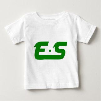 E.S Forest Green Logo Baby T-Shirt
