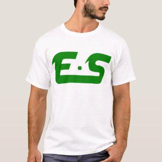 E.S Forest Green Logo T-Shirt