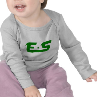 E.S Forest Green Logo Tees