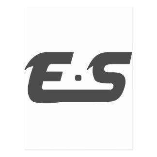 E.S Original Smokey Grey Postcard