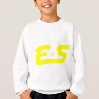 E.S Sunshine Yellow Logo Product Sweatshirt