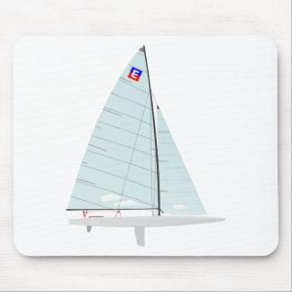 E-scow   Racing Sailboat onedesign  Class Mouse Mat