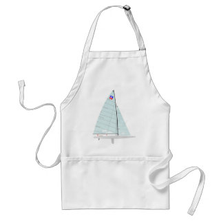 E-scow   Racing Sailboat onedesign  Class Standard Apron