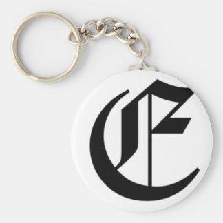 E-text Old English Key Ring