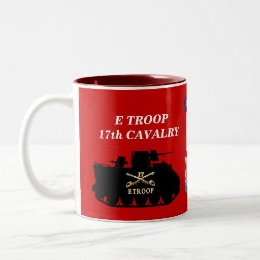 E Troop, 17th Cavalry M113 ACAV Track Mug