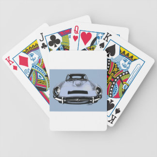 e-type bicycle playing cards