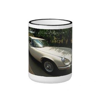 E-Type Jaguar Coffee Mugs